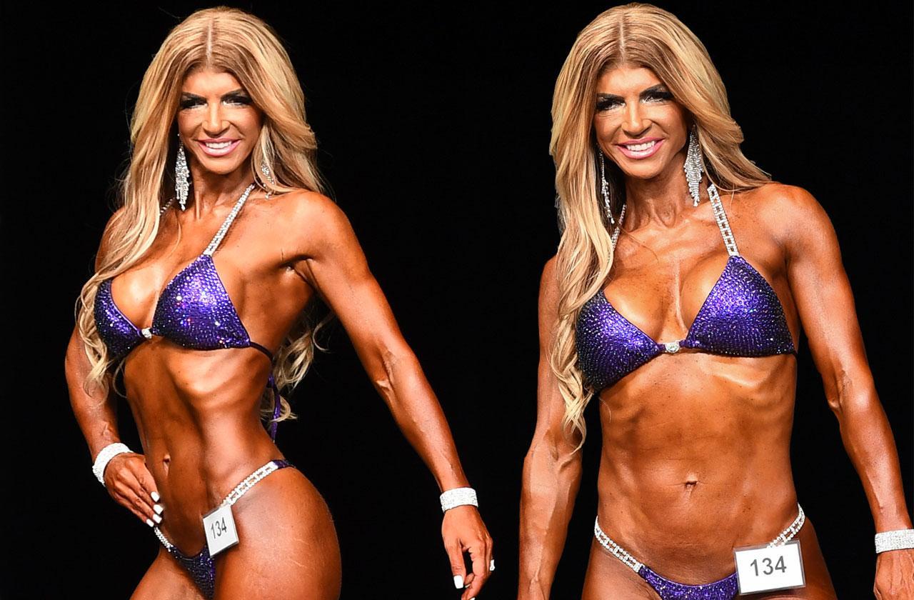 //teresa giudice competes in bodybuilding muscles photos PP