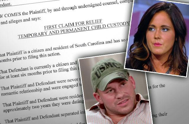 Nathan Griffith Slams Jenelle Evans With Custody Complaint