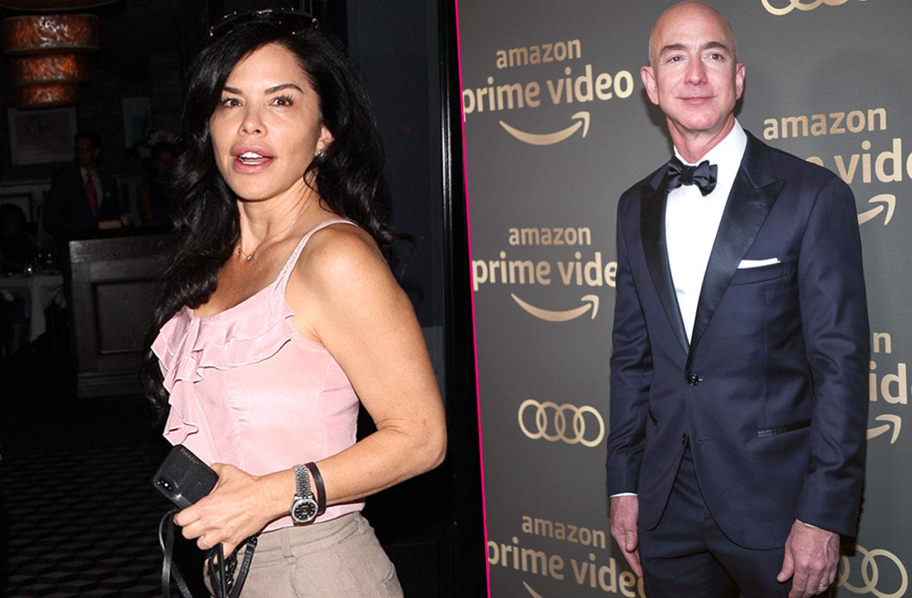 Jeff Bezos Mistress Wedding Rings Cheating Claims Separated