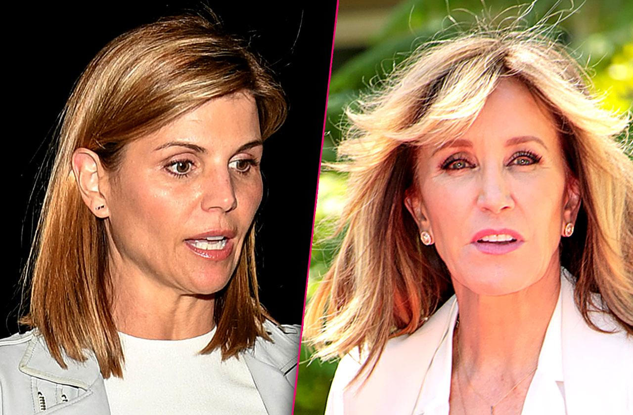 Lori Loughlin Felicity Huffman Arrested College Scam Press Conference
