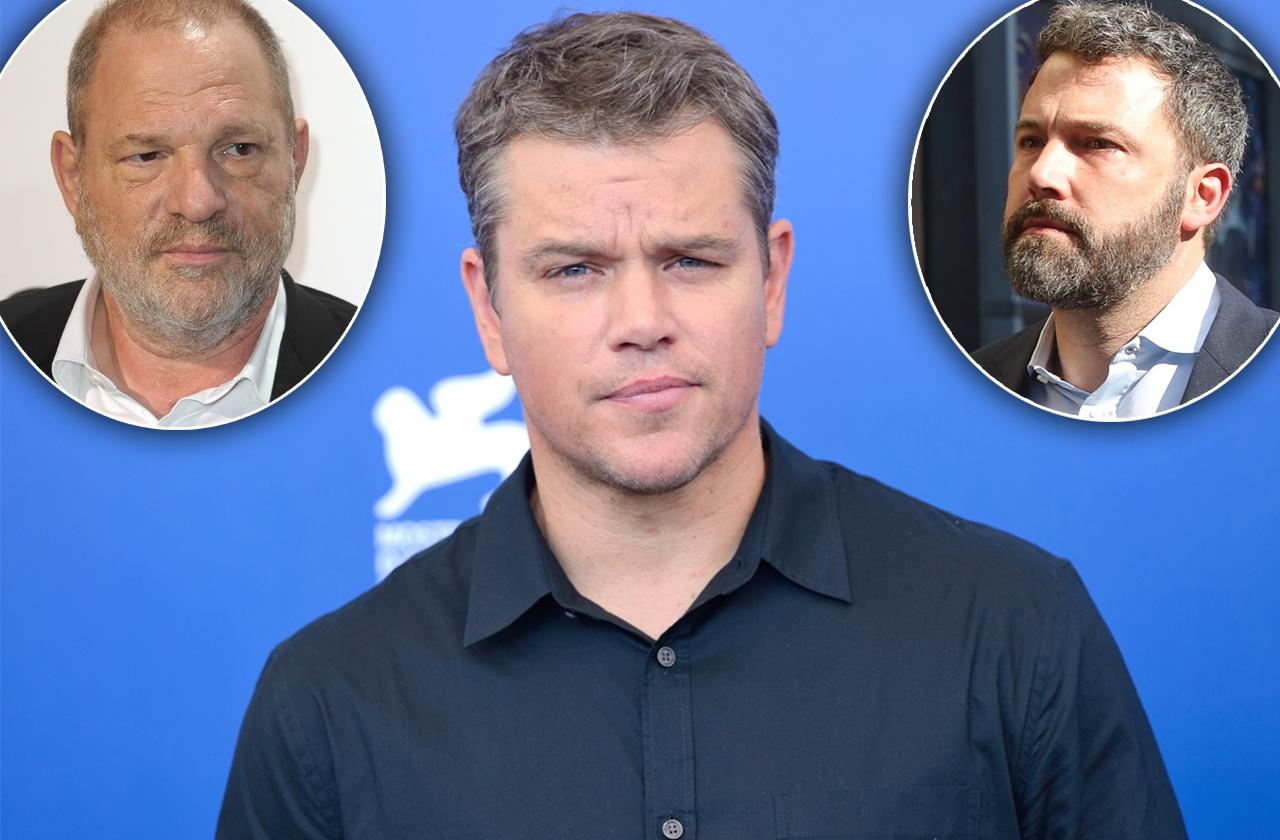 Matt Damon Overhauls Entire Social Circle To Distance Himself From Troubled Friends