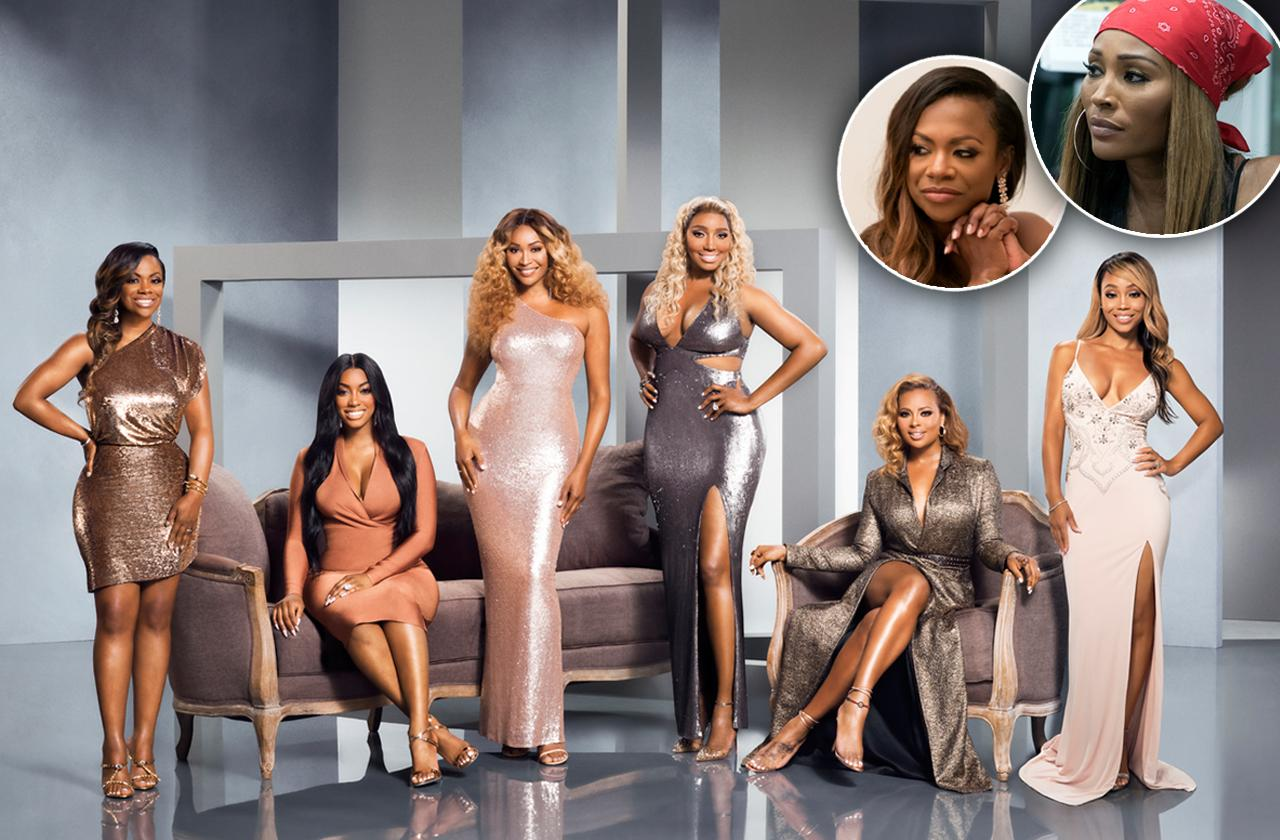 RHOA Cast Cuts Cynthia Bailey Kandi Burruss Chopping Block