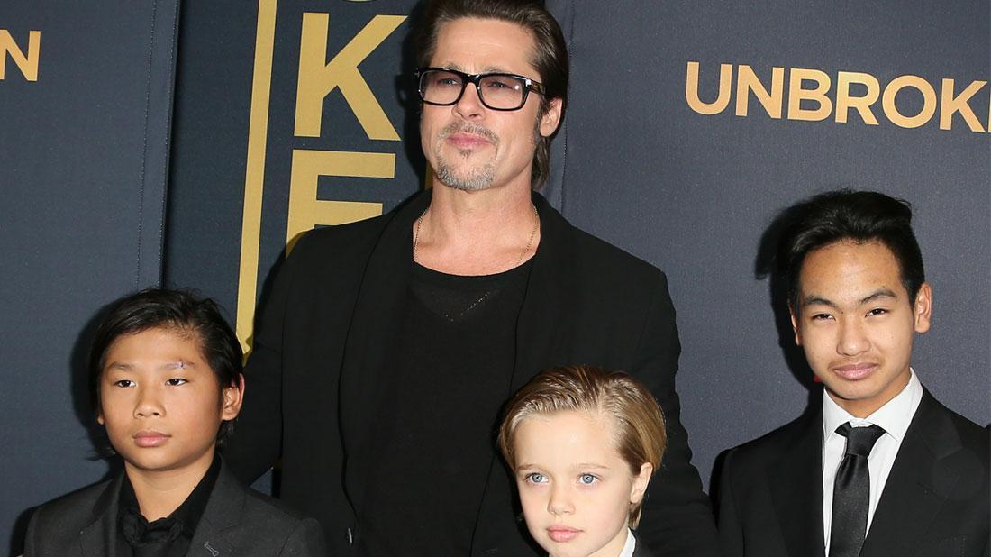 Brad Pitt Takes Summer Break To Spend Time With Eldest Kids