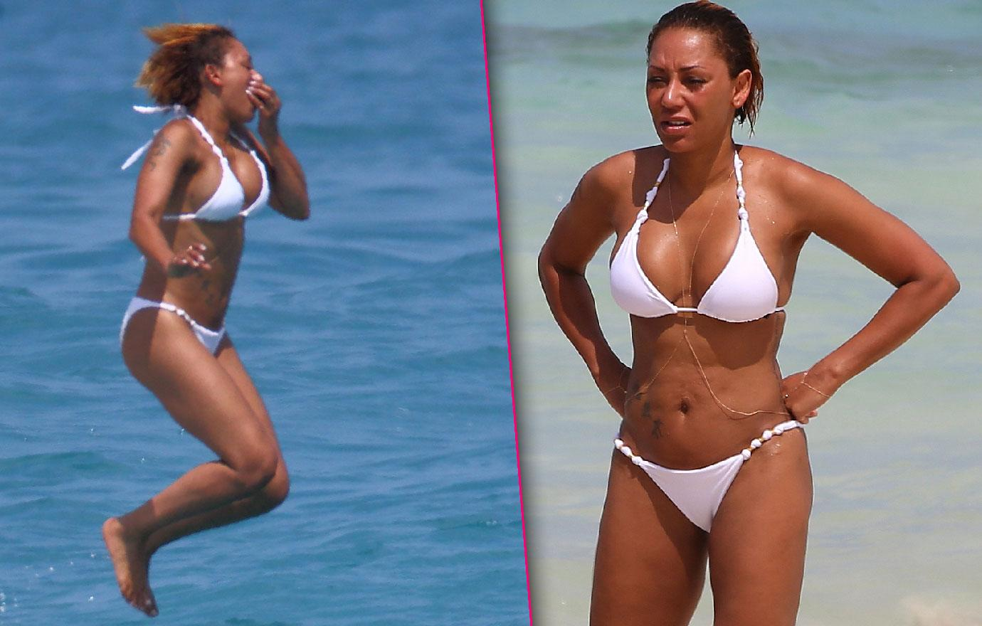 Mel B Flaunts Bikini Body In Hawaii