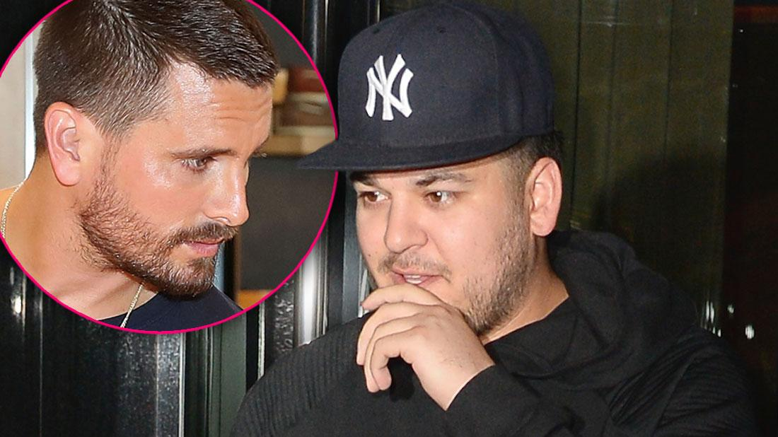 Rob Kardashian Refuses To Work & Wants To Be Stay-At-Home Dad