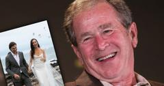 George Bush Daughter Barbara Married
