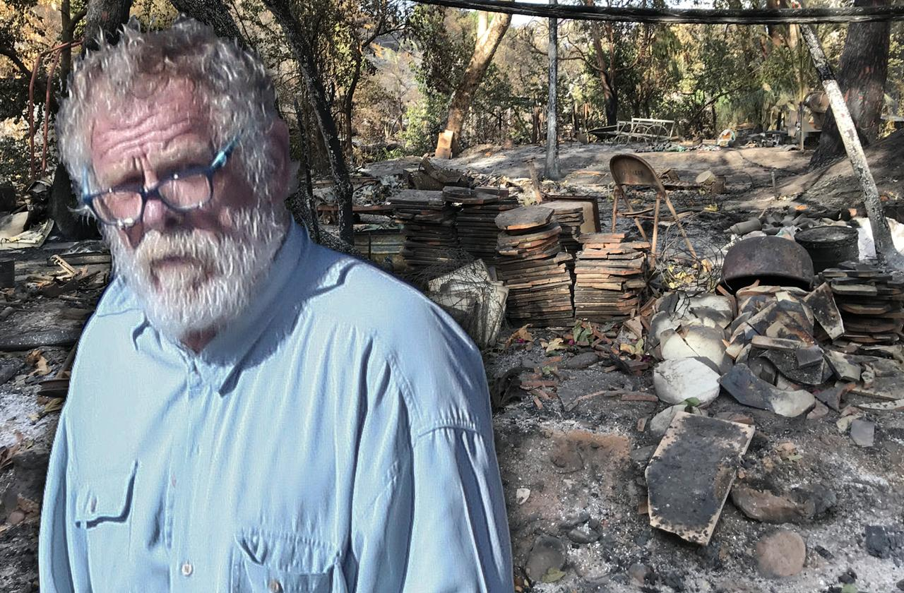 Nick Nolte Home Badly Damaged In CA Wildfires