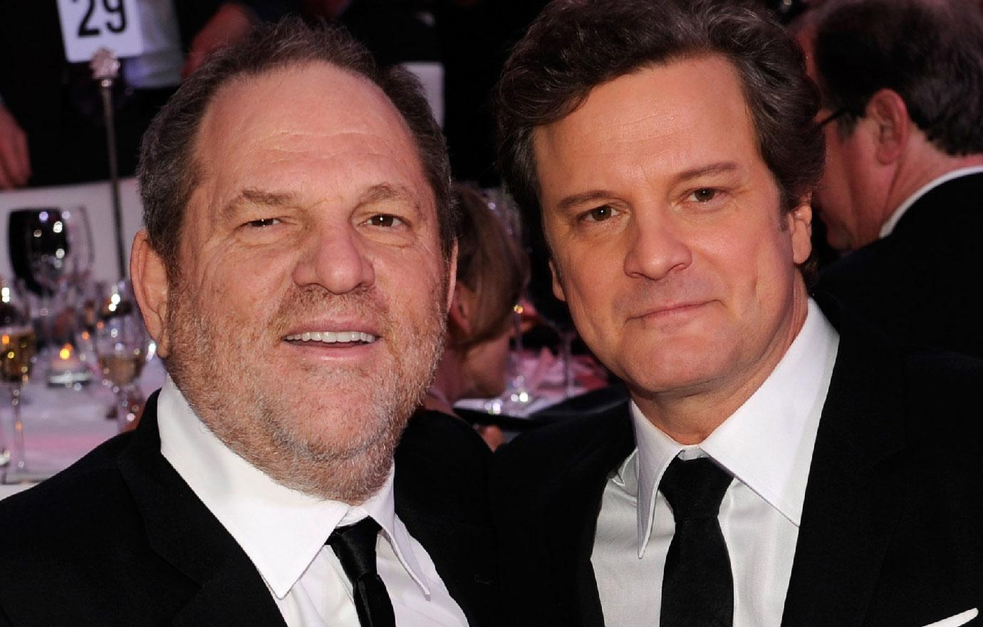 Colin Firth Regrets Not Speaking Up About Harvey Weinstein Abuse