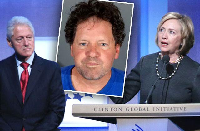 //bill clinton brother arrested dui roger clinton posts bail released jail pp