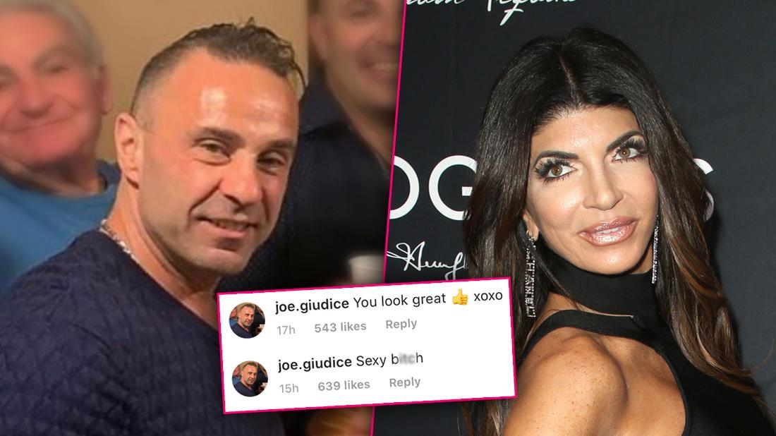 Joe Giudice Calls Teresa 'Sexy B***h' Amid Deportation Appeal Drama