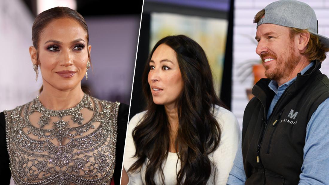 Jennifer Lopez Teams Up With Chip and Joanna Gaines On New Home Makeover Show