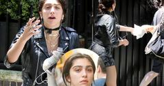 Madonna Daughter Lordes Leon Crying NYC