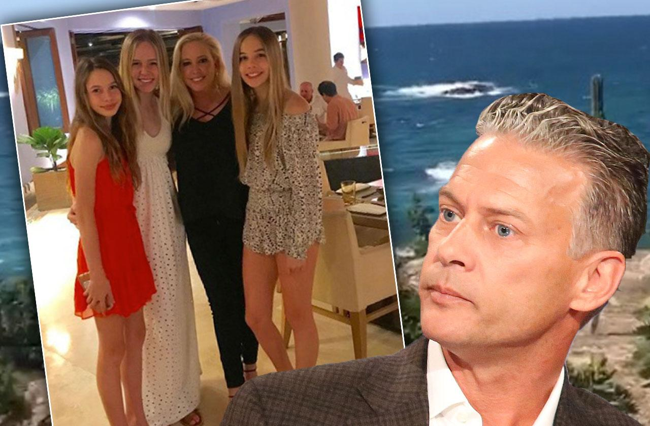 //Shannon Beador Daughters Mexico Beach Vacation pp