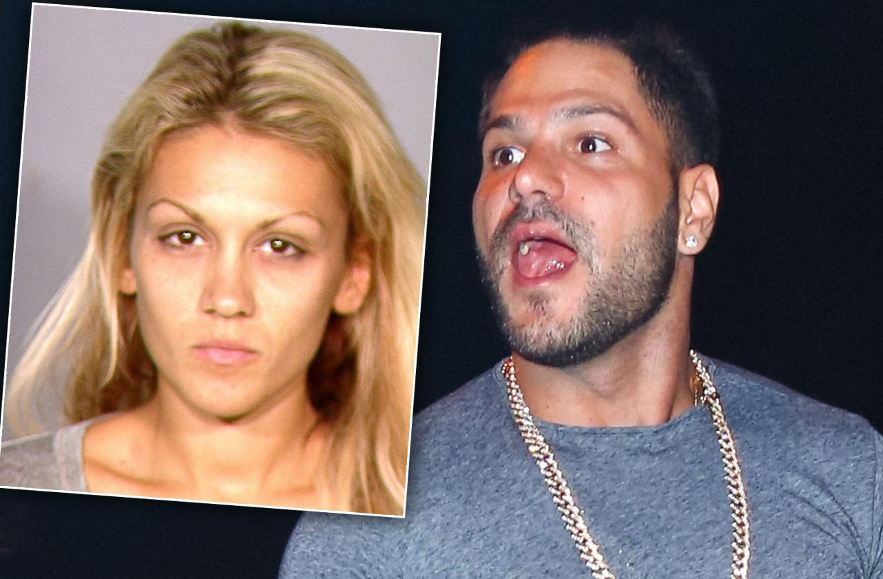 Jersey Shore Ronnie Jen Fight Cops Vegas Warrant-arrest