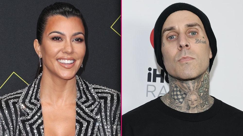 Kourtney Kardashian Is Officially Dating Blink-182 Drummer Travis Barker