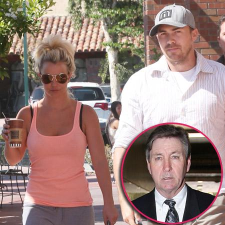 //britney with david lucado and father pp