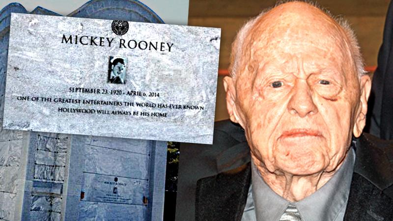 //mickey rooney resting place national enquirer  pp