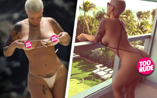 Amber Rose Sexy Naughtiest Moments