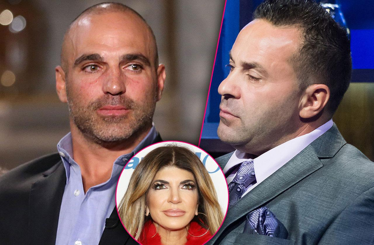 RHONJ joe gorga snubs joe Giudice new book