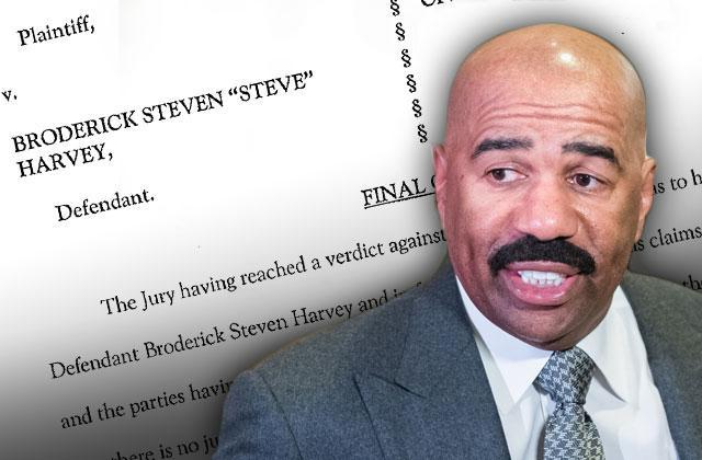 //steve harvey racist extortion lawsuit win