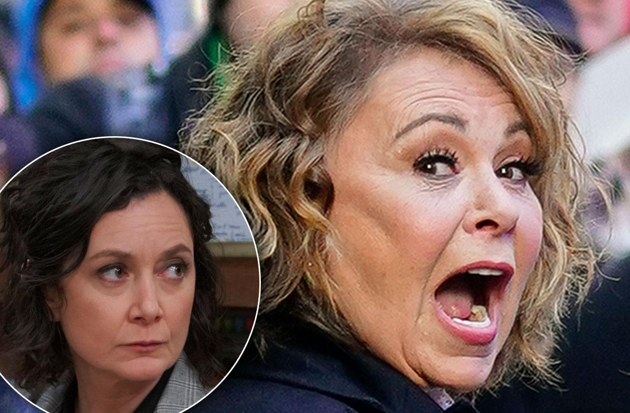 Roseanne Barr Not Talking Sara Gilbert Show Cancellation