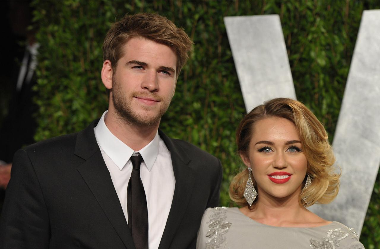 //miley cyrus liam hemsworth married pp