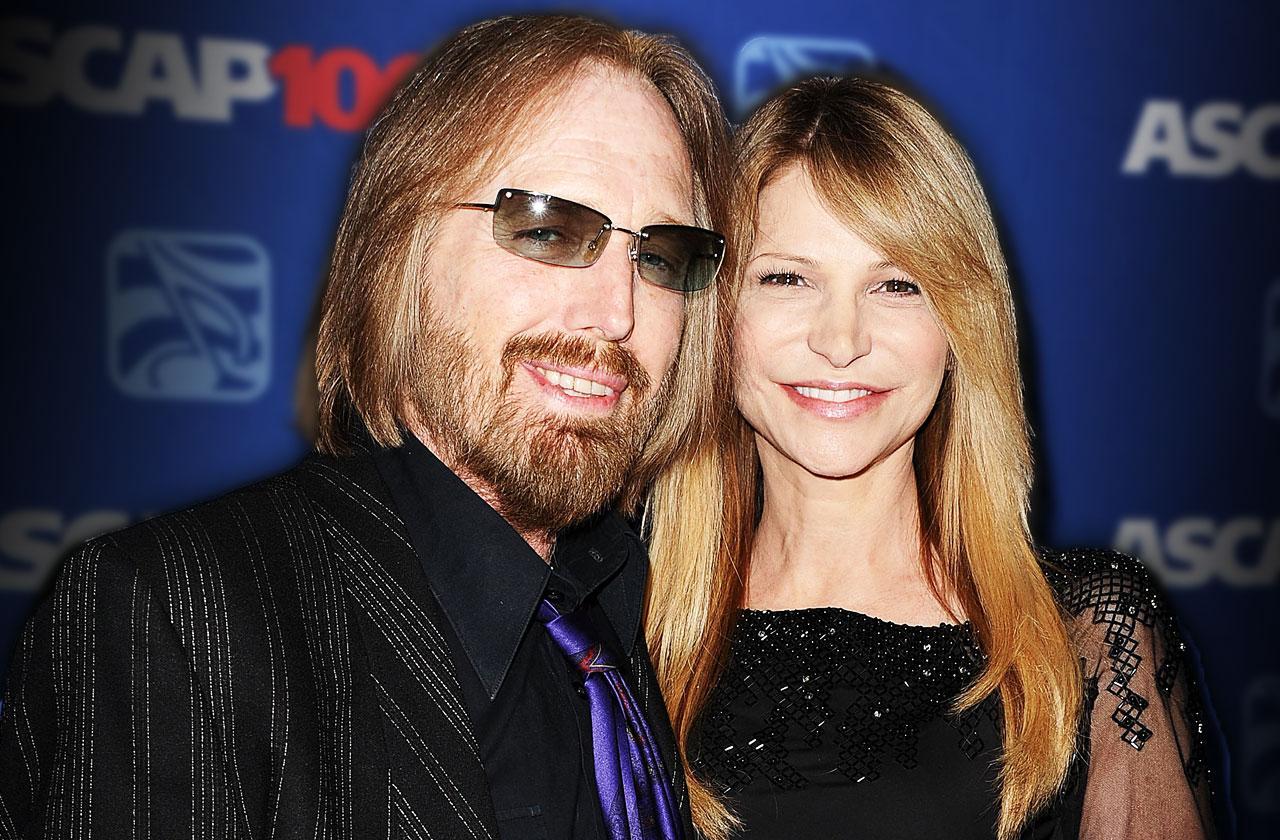 //Tom Petty Dead Sober Wife Dana pp