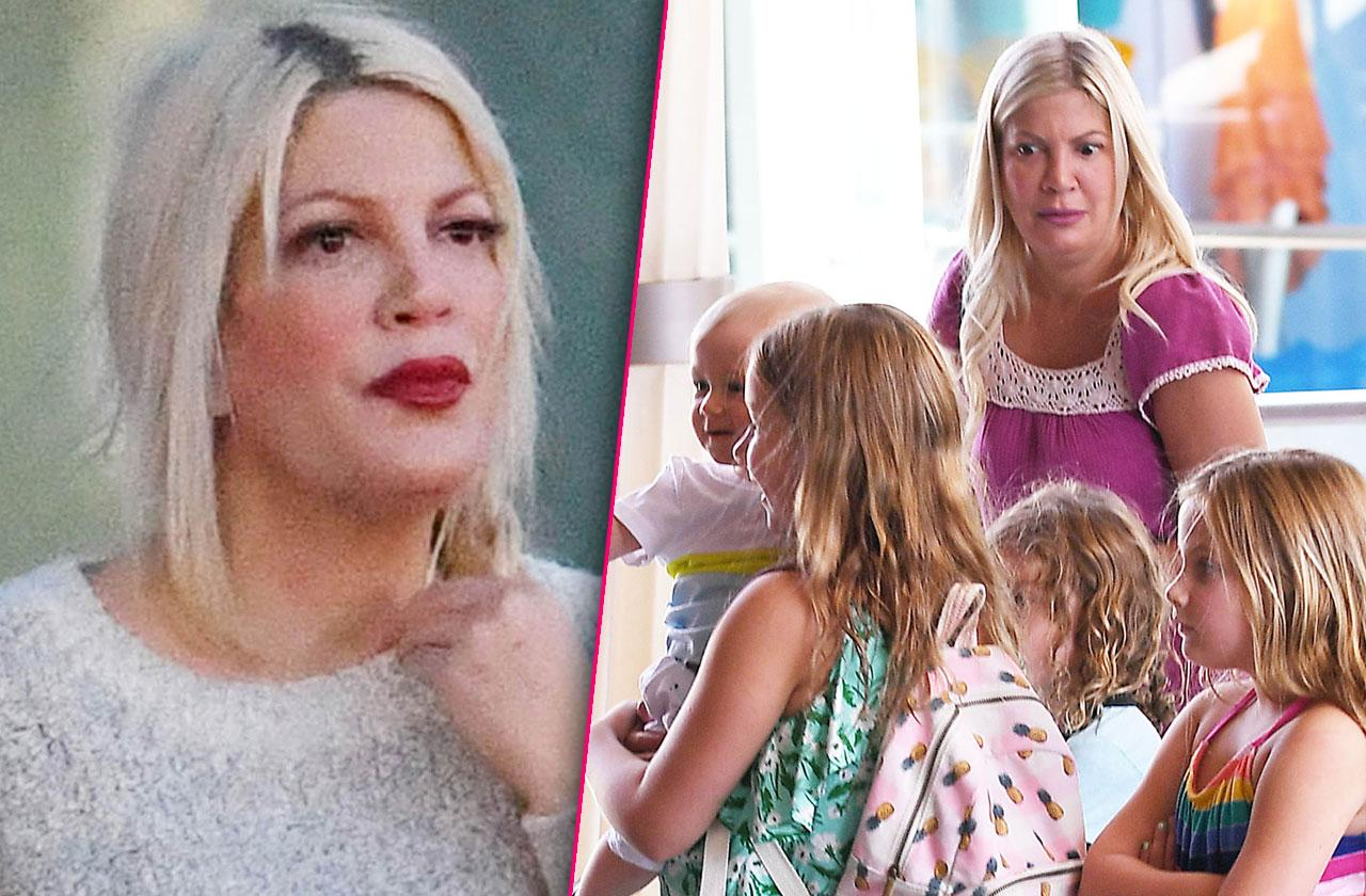 //tori spelling owes taxes california home financial issues pp