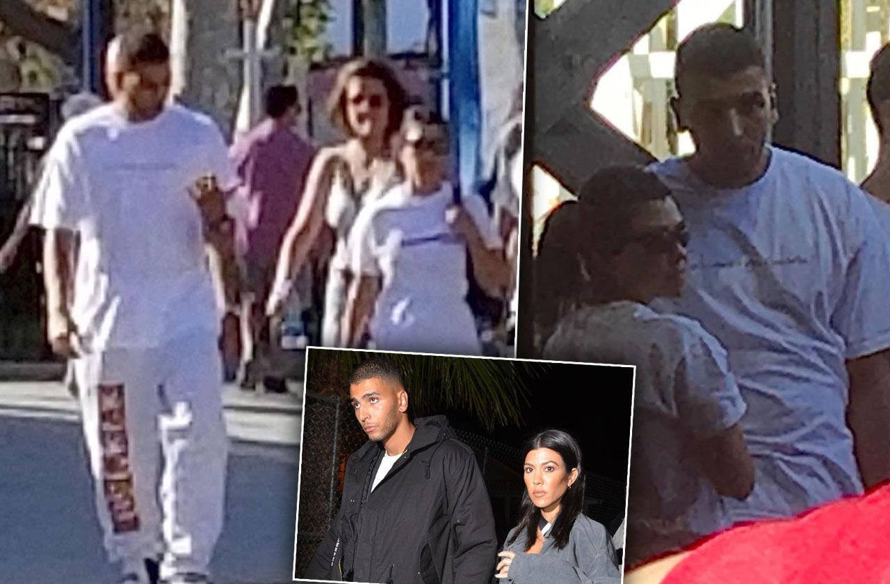 Kourtney Kardashian Younes Bendjima Date Six Fags