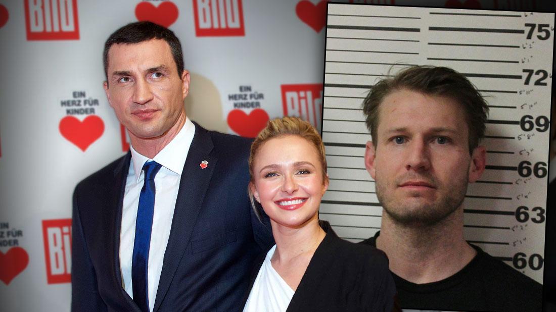 Wladimir Klitschko Hayden Panettiere Praises Ex After Boyfriend (Brian Hickerson's mugshot) Domestic Violence Arrest