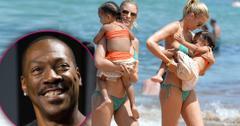 Eddie Murphy's Fiancée Heats Up Hawaii Just Months After Giving Birth