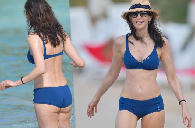 Paul McCartney Wife Nancy Shovel Bikini St Barts Pics