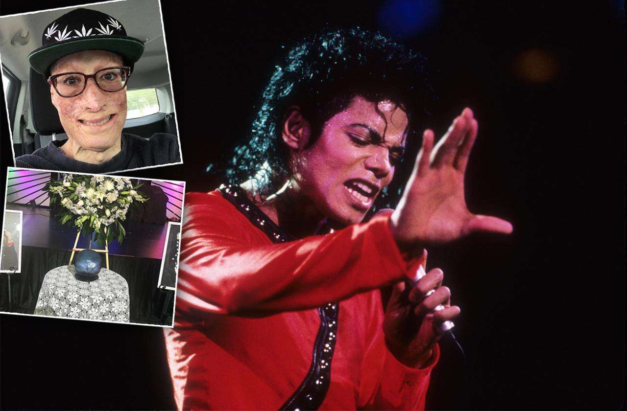 Dave Dave, memorial service, Michael Jackson