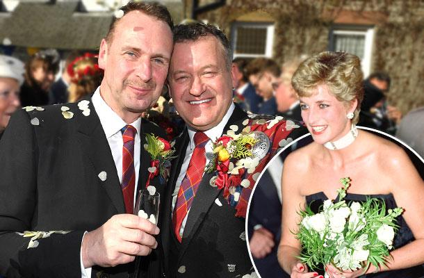 //princess diana butler paul burrell wedding pp