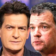 //charlie sheen dumps mark burg sq
