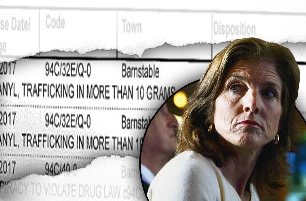 //kennedy drug scandal shriver house drug ring court hearing pp