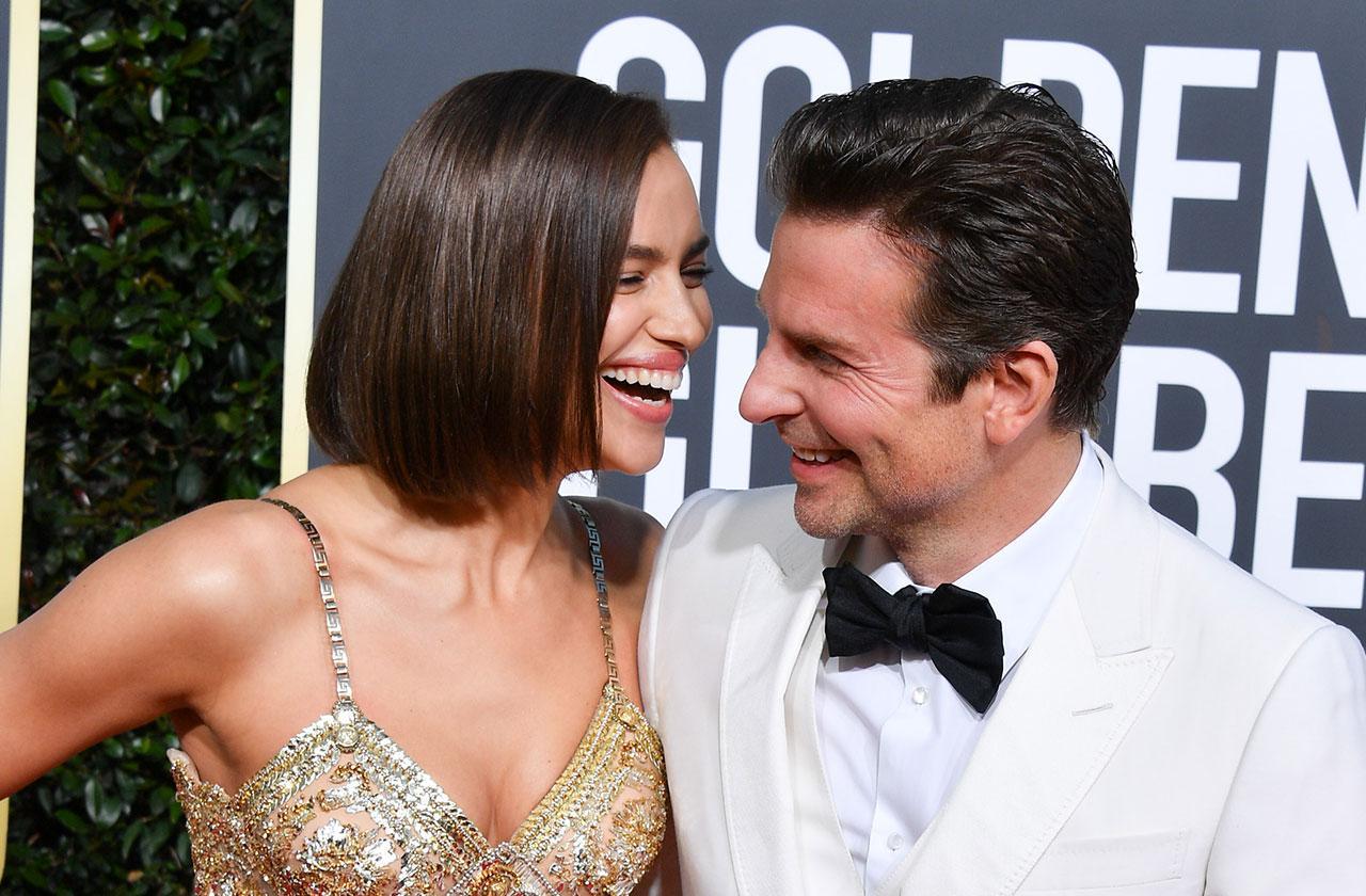 Irina Shayk Bradley Cooper PDA Golden Globes 2019