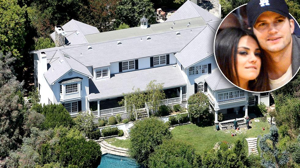 //ashton kutcher mila kunis new home  million pp sl