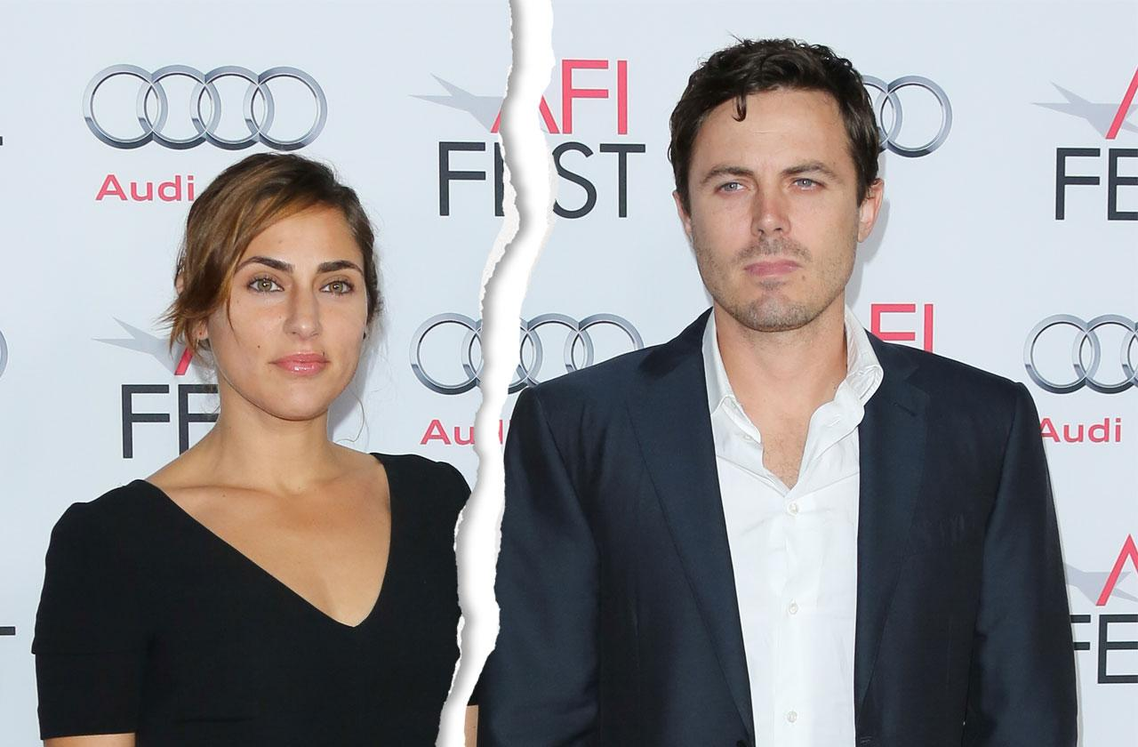 Casey Affleck Wife Files Divorce Summer Phoenix