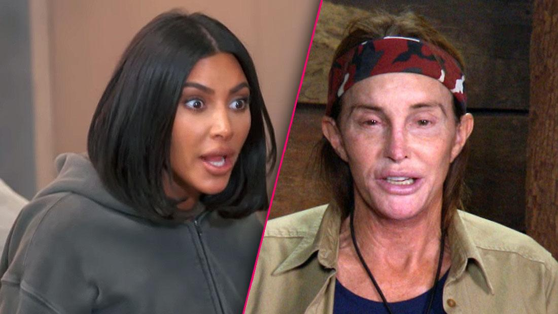 Kim Kardashian Shocked Inset Caitlyn Jenner on 'I'm A Celebrity'