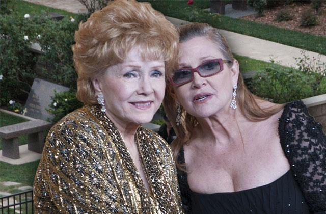 //Carrie Fisher Debbie Reynolds Funeral pp