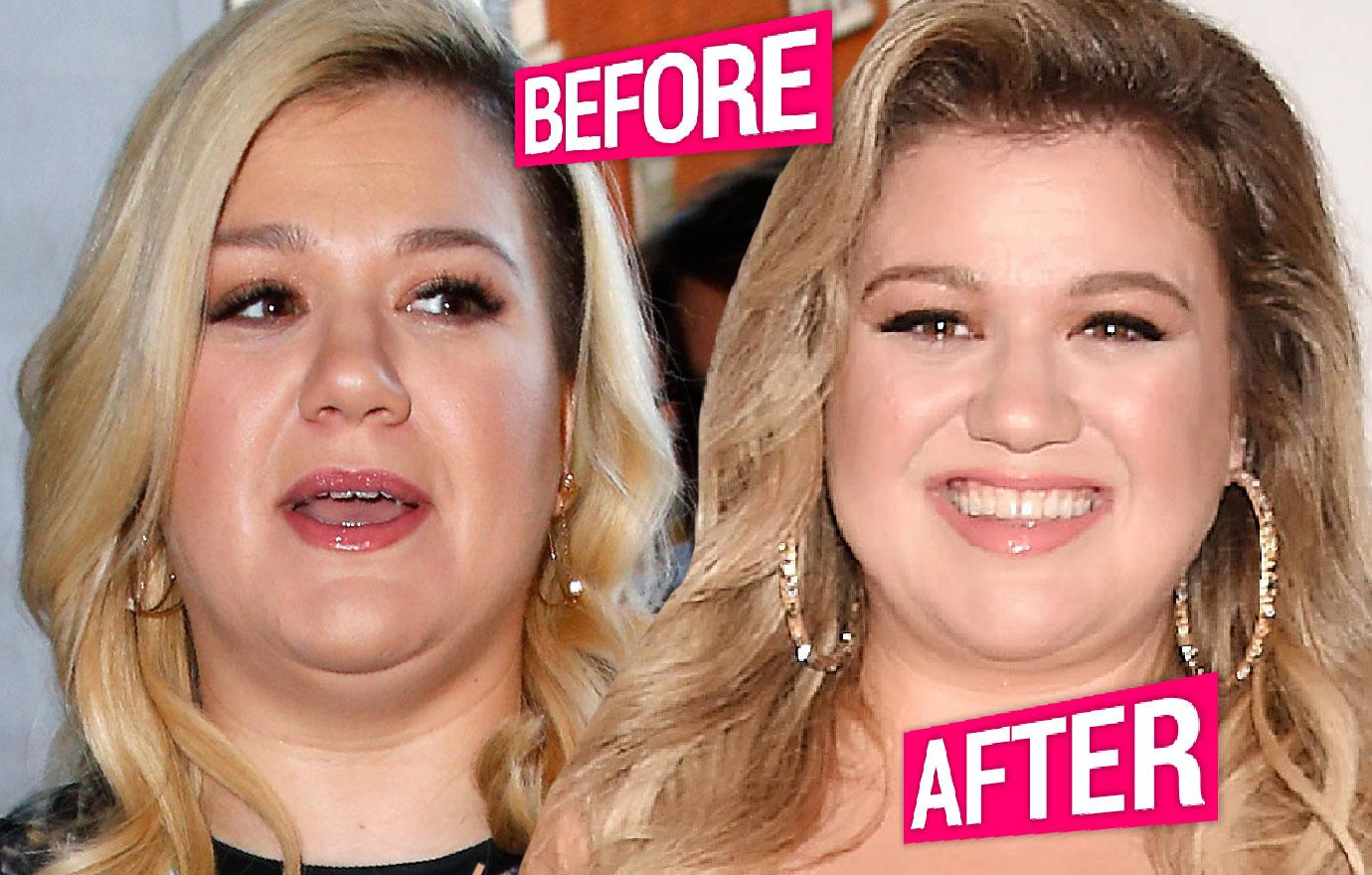 Kelly Clarkson Loses Weight Before And After Pics
