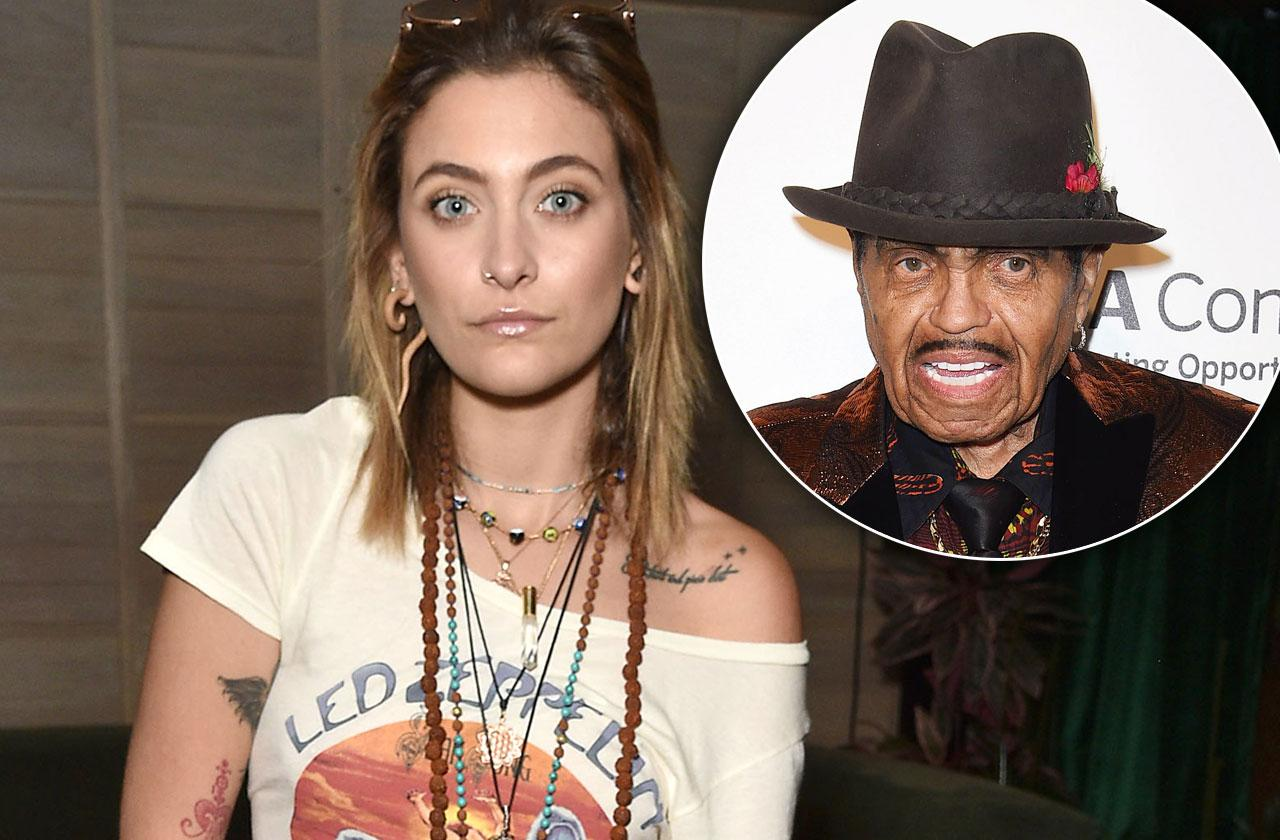 Paris Jackson Bashes User Grandpa Joe Fake Twitter