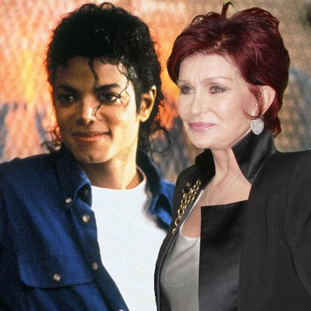 Michael Jackson And Sharon Osbourne