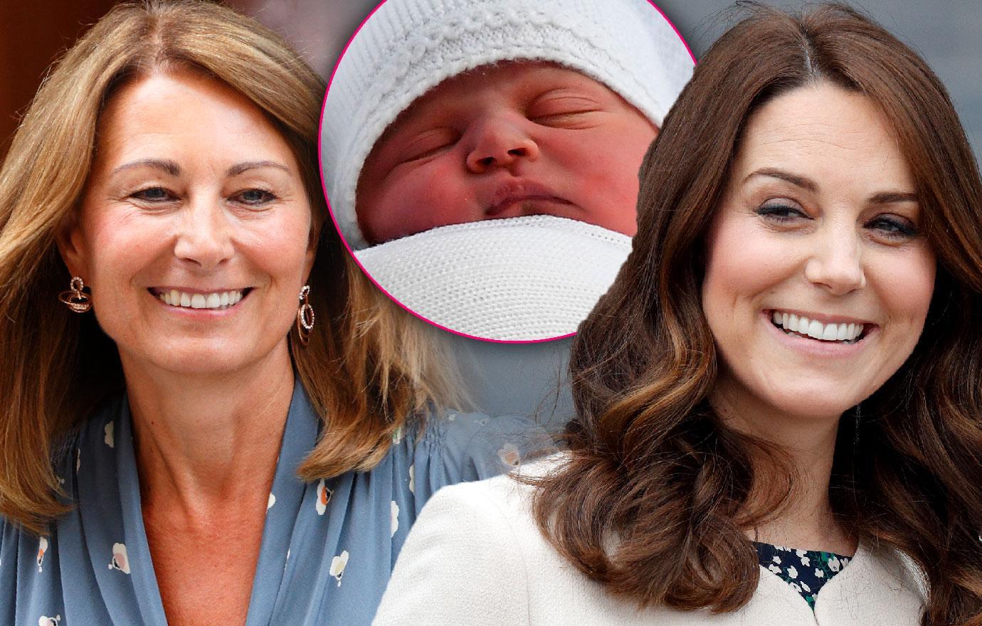 Kate Middleton Mom Carole Plans Lavish Christening For Baby Louis