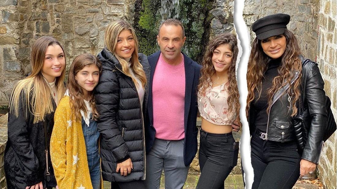 Joe Giudice Reunites With Daughters In Italy For Christmas Without Teresa