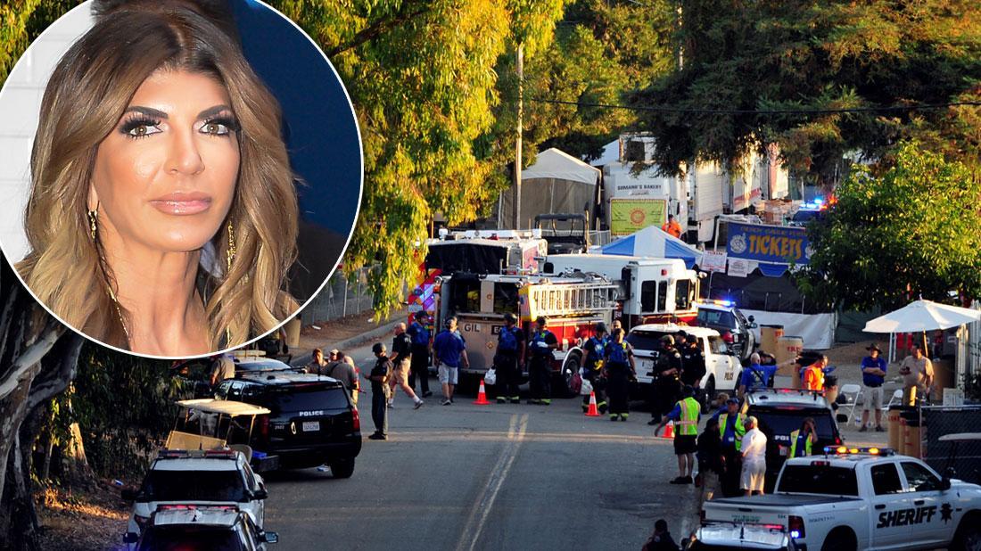 Teresa Giudice Avoids Fatal Shooting At California Food Fest
