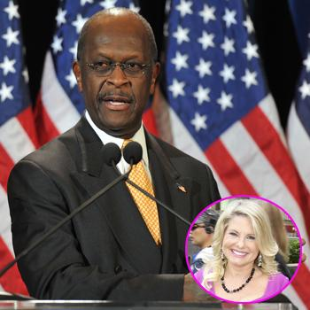 //herman cain sharon bialek splash landov