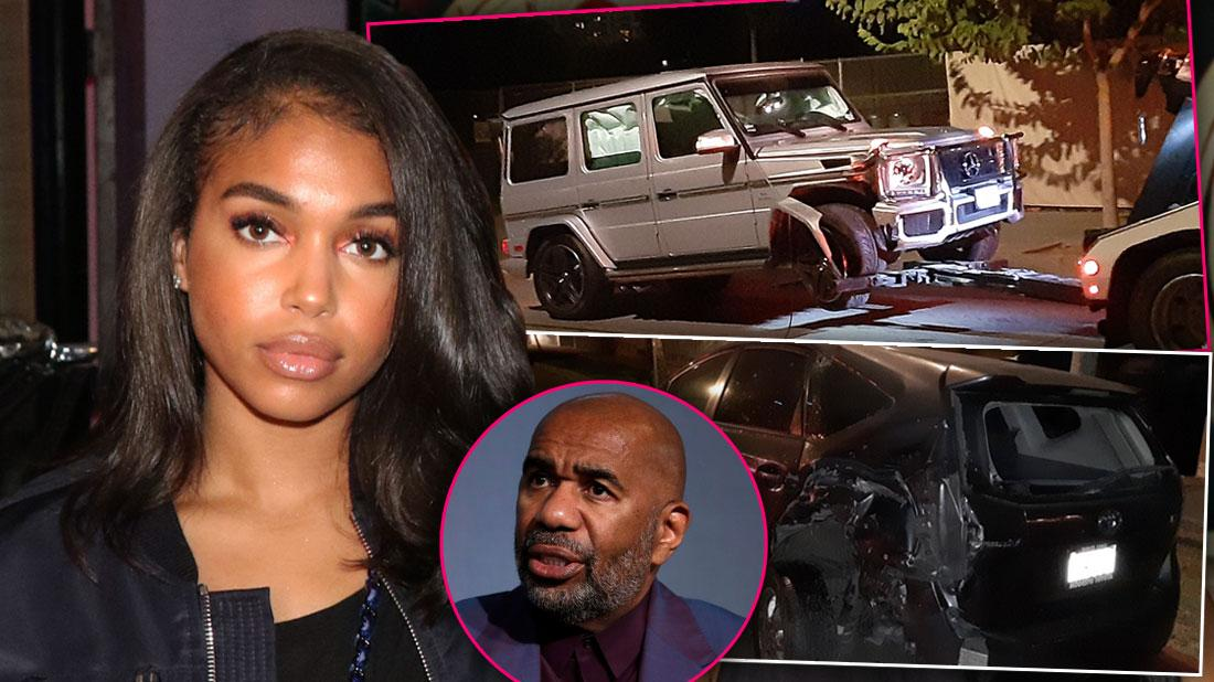 Steve Harvey's Daughter Lori Harvey Charged In Hit And Run