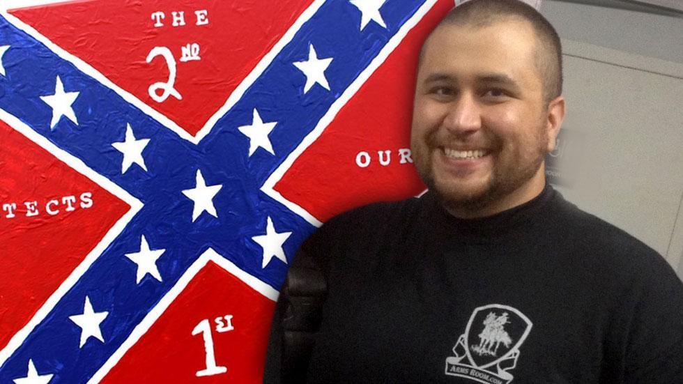 George Zimmerman Confederate Flag